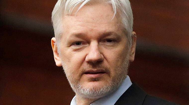 Julian Assange, Julian Assange Wikileaks, Wikileaks, Hillary clinton, US Presidential debate, Ecuador, World news, Indian express news