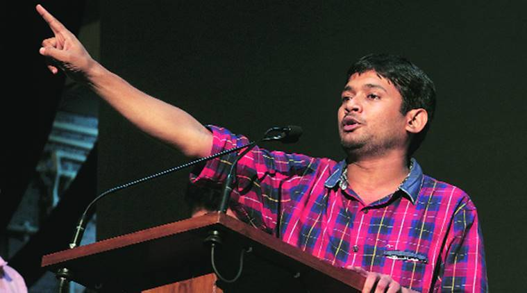 Kanhaiya Kumar, Kanhaiya, former JNU union president, SIMI terrorists killed, Madhya Pradesh terrorists killing, India news, latest news, indian express