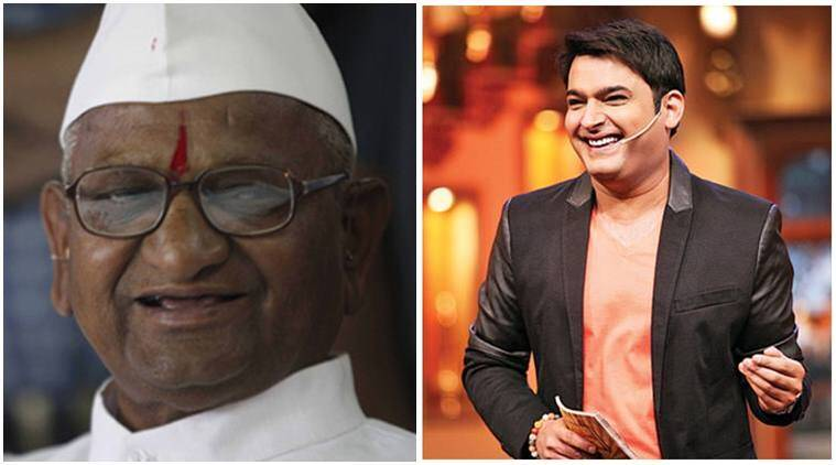 Anna Hazare, Anna Hazare film, Anna Hazare movie, Anna Hazare biopic, Anna Hazare on Kapil sharma show, kapil sharma Anna Hazare, Anna Hazare news, entertainment news, indian express, indian express news