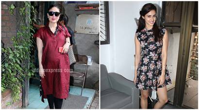 Mom-to-be Kareena Kapoor dines out, Disha Patani promotes MS Dhoni biopic