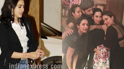 Inside pics of Kareena Kapoor birthday: Saif Ali Khan and daughter Sara make her day special