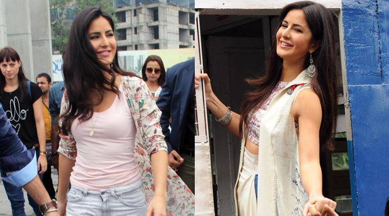 Katrina Kaif, the new queen of long capes and jackets ...
