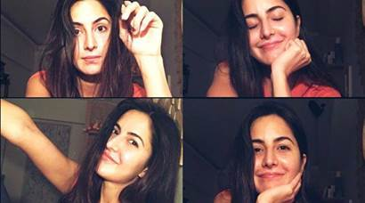 Katrina Kaif's selfies are a proof that she doesn't need makeup to look pretty
