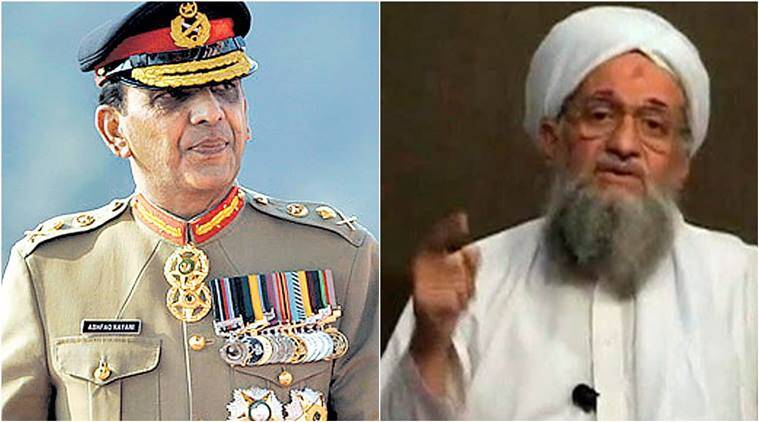 al qaeda, ayman al zawahiri, zawahiri daughters, general ashfaq pervez kayani, general kayani son, kayani son kidnap, kayani son kidnapped, kayani son exchange, pakistan news