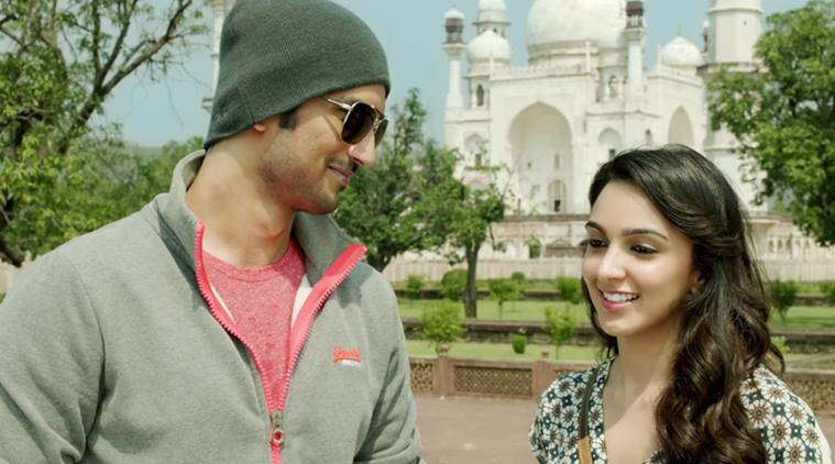 MS Dhoni, MS Dhoni biopic, MS DHoni the untold story, Kiara Advani, Kiara Advani MS Dhoni, Dhoni, MS DHoni movie, Sakshi dhoni, MS Dhoni wife, MS Dhoni girlfriend, Disha Patani, Sushant Singh Rajput, Entertainment, indian express, indian express news