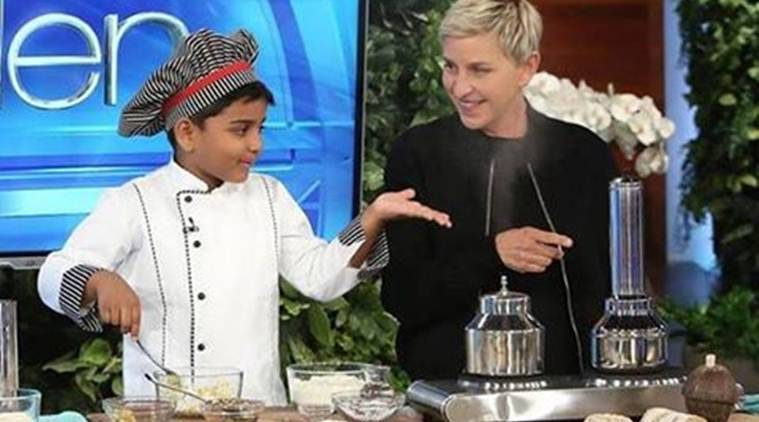 ellen show, Ellen DeGeneres, kerala boy Ellen DeGeneres show, keralal chef Ellen show, kerala 6 year old Ellen DeGeneres show, kicha Ellen DeGeneres show, kerala kicha Ellen DeGeneres, indian boy ellen show, kerala boy the ellen show, kicha cooking channel, kicha facebook video, trending news, viral news, india news, kerala news, latest news