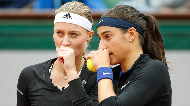 Kristina Mladenovic, Mladenovic, Caroline Garcia, Garcia, Fed Cup, Fed Cup tennis, Fed Cup tennis final, Fed cup final czech republic vs france, czech republic vs france final, tennis, tennis news, sports, sports news
