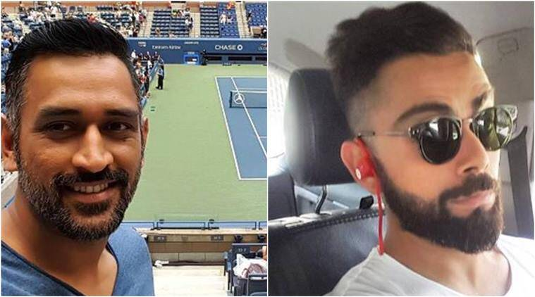 dhoni, kohli, india captain, MS dhoni, virat kohli, india skipper, dhoni instagram, kohli instagram, dhoni us open, us open semi final, us open 2016, cricket news, sports news