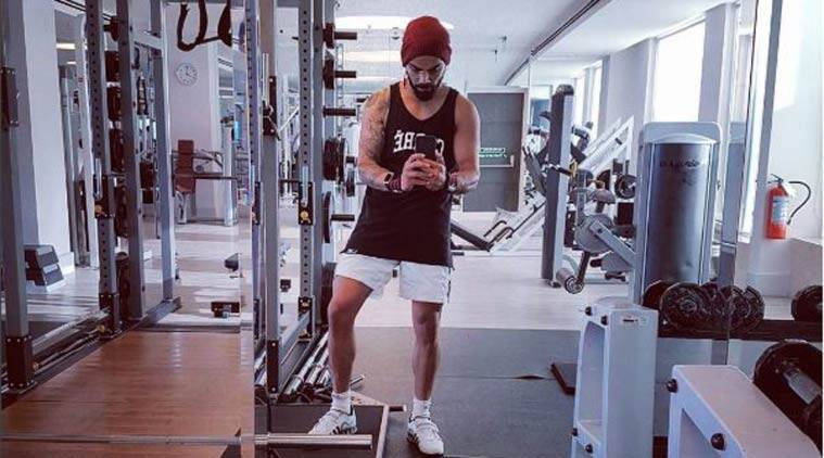 Image result for Virat Kohli gym