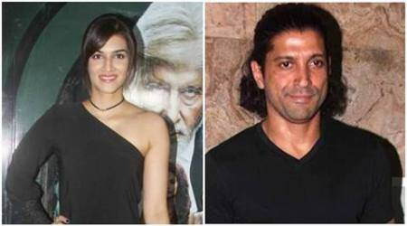Don't think it will be difficult to gel with Farhan Akhtar, says Kriti Sanon