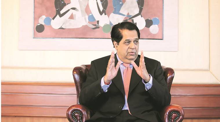 ICICI bank, ICICI, ICICI chairman, kv kamath, kv kamath interview, new development bank, ndb, capital, brics countries, chinese overcapacity, chinese market, economy, global economy, bexit, global system, aiib, gst, good and services tax, indian express news, india news, business news