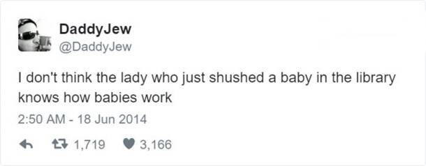 15 hilarious tweets about babies that will sure leave you in splits
