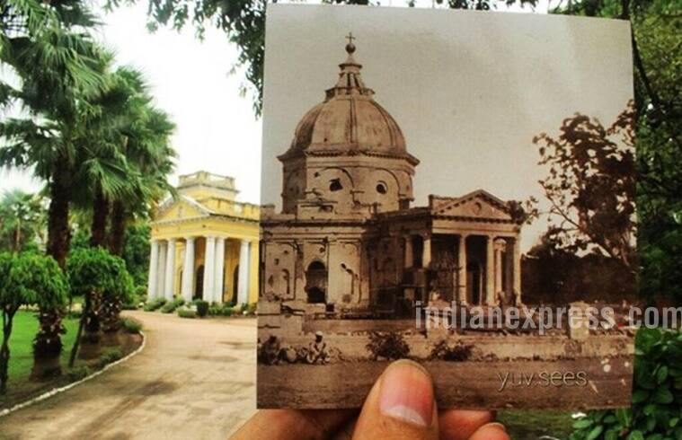 This photo shows Skinner's Church or St. James Church in Kashmere Gate,New Delhi being riddled with bullets after the first Indian rebellion against the British in 1857! (Source: yuv.sees/Instagram)