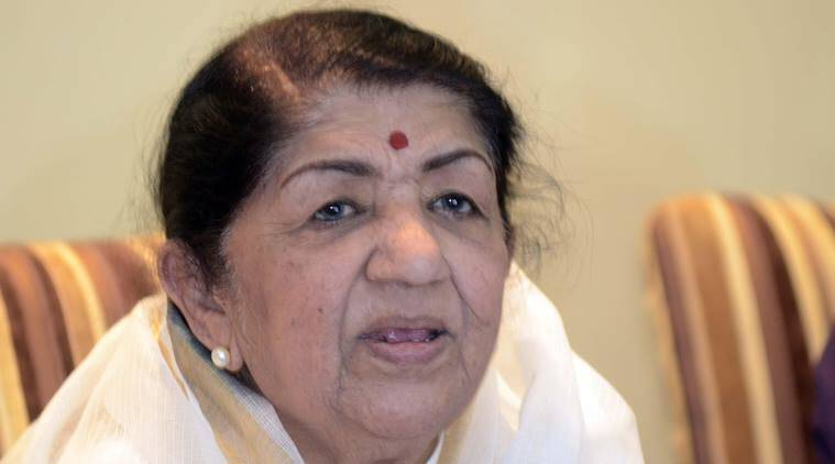 Lata Mangeshkar, Lata Mangeshkar birthday, Lata Mangeshkar 87th birthday, Lata Mangeshkar not celebrate birthday, Lata Mangeshkar message for pakistan, Uri Attacks, Entertainment, indian express, indian express news