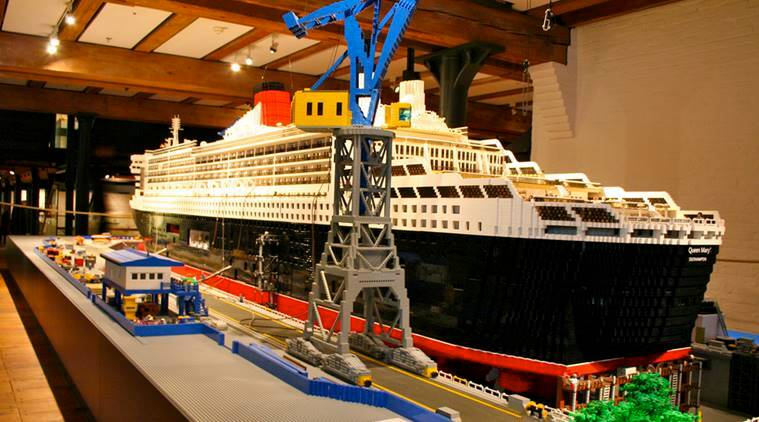 Worlds Largest LEGO Ship Sets Guinness Record The Indian Express - Biggest lego ship