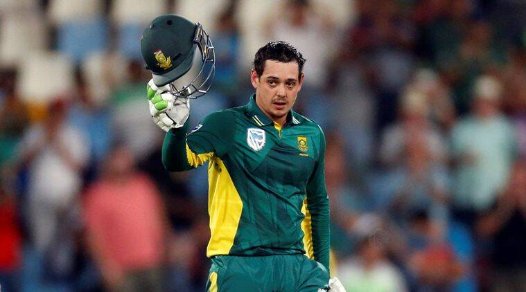 Quinton de Kock scores 178 in South Africa's six wicket win over ...