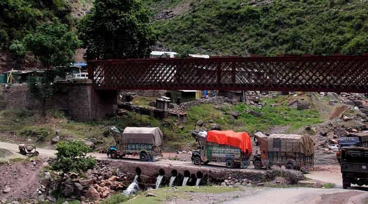 jammu and kashmir, Lin of control, LOC, cross-loc trade, india-pakistan trade
