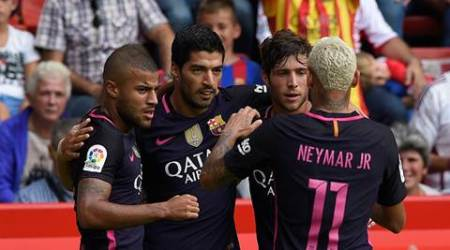 Barcelona thrive despite Lionel Messi's absence