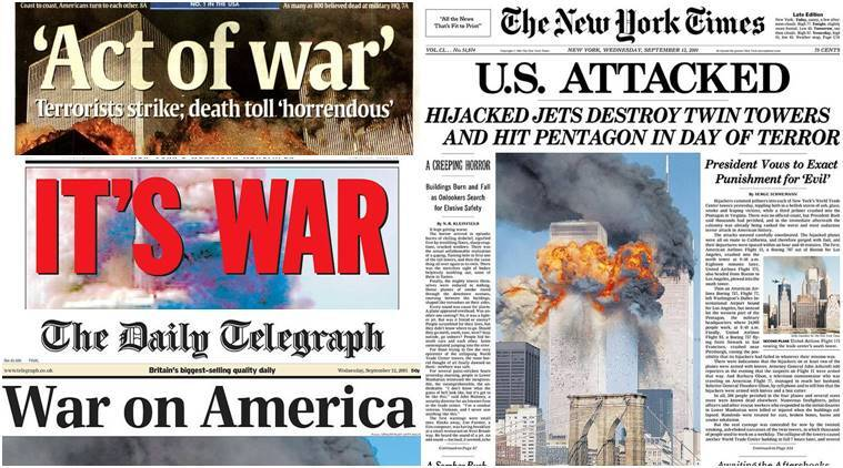 Image result for pic of 9 11 attacks