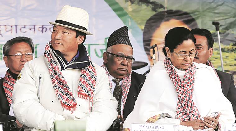 mamata banerjee, ddarjeeling, peace in darjeeling, darjeelin hils mamata banerjee, gurung issue, west bengal news, india news, indian express,