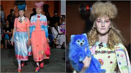 Paris Fashion Week: Manish Arora enthralls with rainbow colour Pony theme