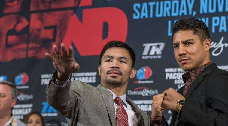 Manny Pacquiao puts retirement on hold, takes on Vargas