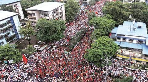 Maratha agitation, Marathas, maratha rally, maratha quota, Maratha communities, maratha morchas, Maharashtra silent rallies, Devendra Fadnavis, reservation to Marathas, Maratha girl rape murder, maratha outfits, angry maratha outfits protest, maratha protests, kopardi rape, kopardi rape case, maharashtra crimes, schedule tribes, sc st quota, sc, st, dalits, Kopardi, india news, maharashtra news