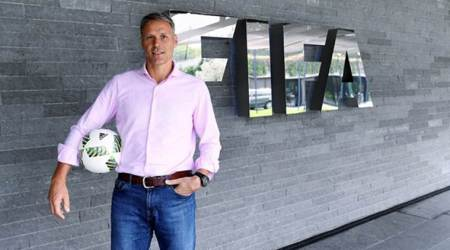 Marco van Basten steps down from FIFA technical director role