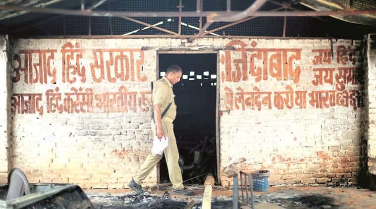 Jawahar Bagh violence, Meerut police, Ram Vriksha Yadav, UP Police, Indian Express, Indian Express News