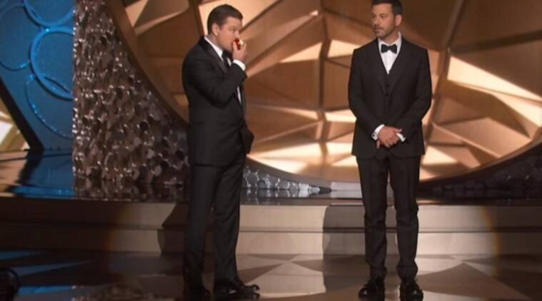 Jimmy Kimmel, Matt Damon, Emmy awards