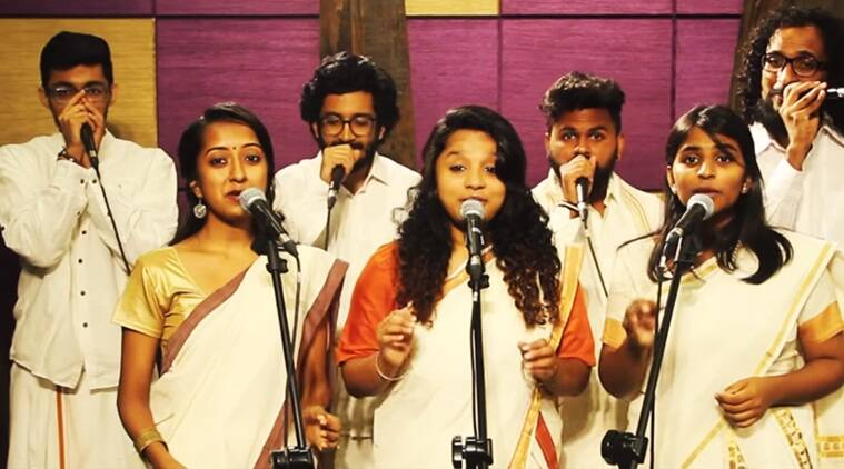 Sing along with this groovy a cappella medley of popular Malayalam