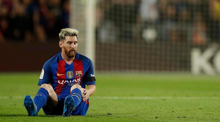 Lionel Messi, Messi, Messi injury, Lionel Messi injury barcelona, Barcelona Lionel Messi, La Liga, Football news, Football