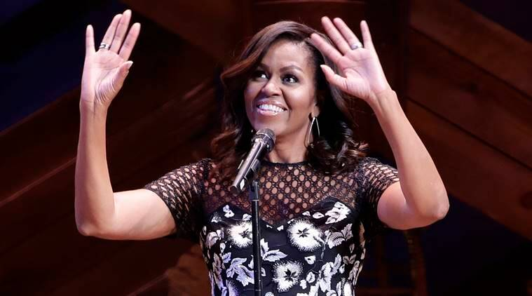Michelle Obama, Obama, first lady, Mrs Obama, Broadway, Michelle obama broadway visit, US, united states, Michelle obama to educate girls, US, US girls education, girls education, US news, world news