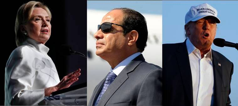 Donald Trump, Hillary Clinton, UN, Abdel Fattah al-Sisi, clinton trump, trump clinton, US presidential elections, news, latest news, world news, international news, UN Egypt