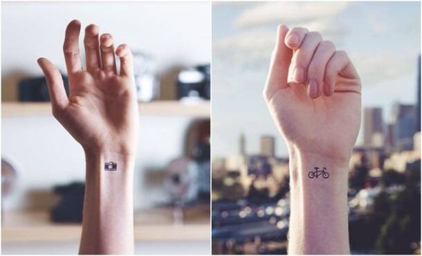 Photos 20 minimalist tattoos that inspire you to get for Minimalist house tattoo