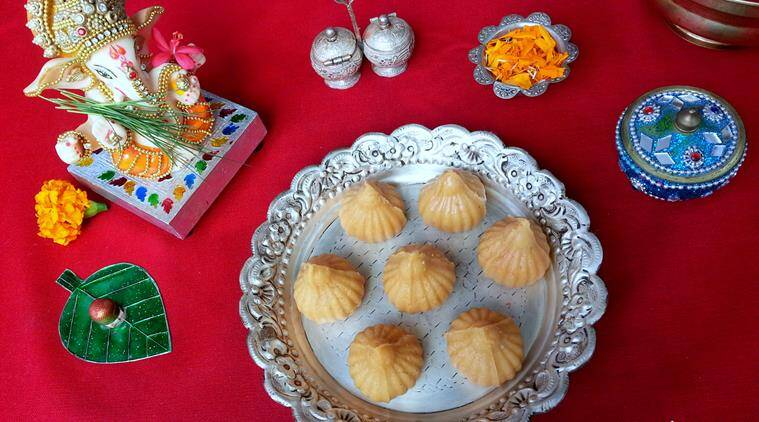 If you like your modak creamy then try out this Chhena Modak recipe. (Source: Annapurna/Poonam Bachhav)