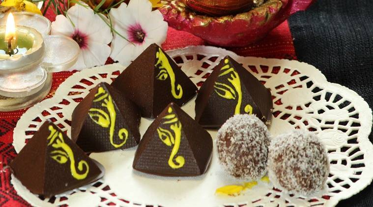 modak recipe, chocolate modaks, recipes for Ganesh Chaturthi, new recipe for your modaks