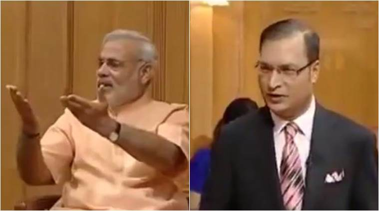 Narendra Modi interview from 2011 on how India should deal with Pakistan/ Screenshot
