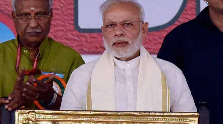 Blood & water can't flow together: Modi