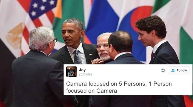 Another picture of Narendra Modi at G-20 Summit goes viral and people have their own captions for it