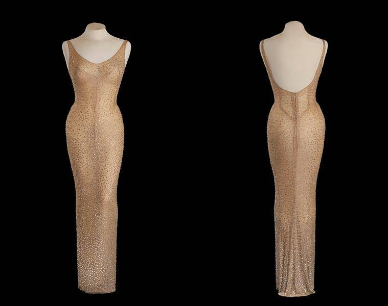 The dress is expected to fetch around $2 million to $3 million. (Source: Reuters)