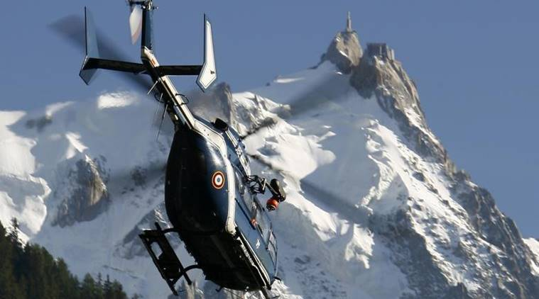 mont blanc Cable car, Cable car, Tourists trapped, tourists trapped in cable car, Mont-Blanc Company, France, French company, Tourists rescued, France news, world news, indian express news