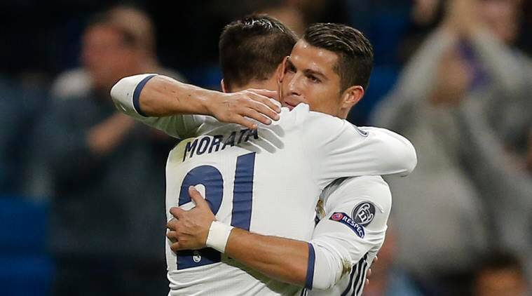 Cristiano Ronaldo, Alvaro Morata, Real Madrid, Sporting Lisbon, Champions League, UCL, Real Madrid Sporting, Real Madrid vs Sporting, Real Madrid Sporting score, UCL scores, UCL results, football, football news, sports, sports news