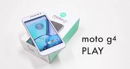 Moto g4 Play Unboxing Video