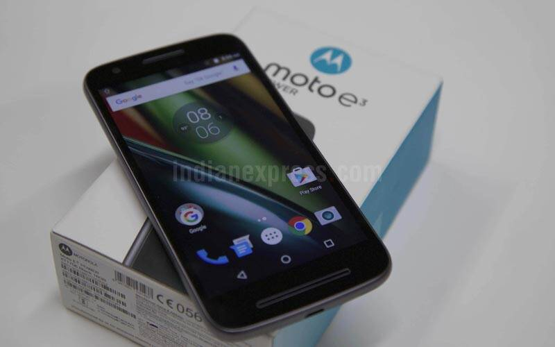 Lenovo, motorola, moto e3 power, moto e series, moto e3 india, moto e3 price india, moto e3 specs, amit boni, flipkart, motorola head india, smartphones, technology news, indian express