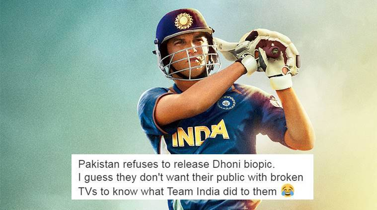 MS Dhoni: The Untold Story boycotted in Pakistan and people can't stop joking