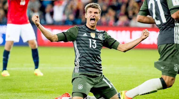 germany, thomas muller, world cup qualifiers, world cup 2018 qualifiers, world cup qualification germany, germany vs norway germany norway, muller, joshua kimmich manuel neuer, joachim loew, sports news, football news