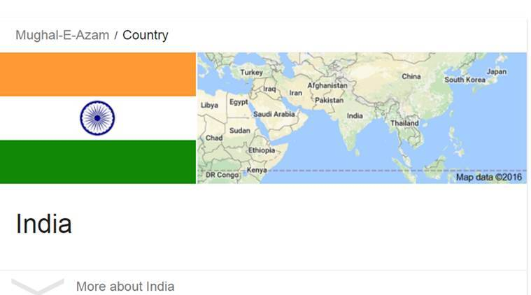 Mughal E Azam country is India too. Because we made some really cool movies! (Source: Google)