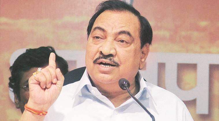 eknath khadse, bjp leader, senior bjp leader, maharashtra bjp, maharashtra cabinet, maharashtra government, indian express