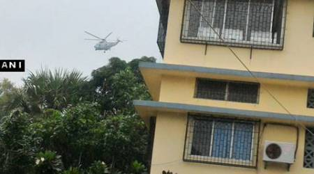 Navy on highest alert, men carrying heavy arms spotted near naval base inMumbai